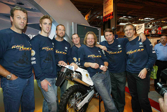 BMW Dakar 2006 Team